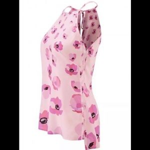 Cabi Pink Poppy Tank Modern Tie-Back Halter 5218